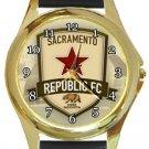 Sacramento Republic FC Gold Metal Watch