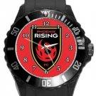 Phoenix Rising Plastic Sport Watch In Black