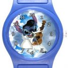 Stitch as Elvis Presley Blue Plastic Watch