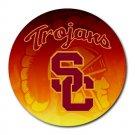 University of Southern California Trojans Heat-Resistant Round Mousepad