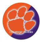 Clemson Tigers Heat-Resistant Round Mousepad