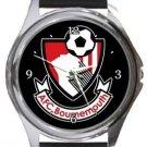 AFC Bournemouth Round Metal Watch