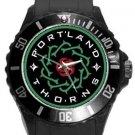 Portland Thorns Plastic Sport Watch In Black