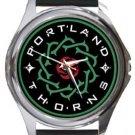 Portland Thorns Round Metal Watch