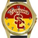 USC Trojans Gold Metal Watch