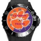 Clemson Tigers Plastic Sport Watch In Black