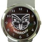 New Zealand Warriors Money Clip Watch