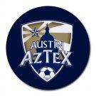 Austin Aztex Heat-Resistant Round Mousepad