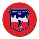 Boston City FC Heat-Resistant Round Mousepad