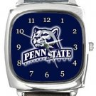 Penn State University Nittany Lions Square Metal Watch