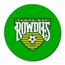 Tampa Bay Rowdies Heat-Resistant Round Mousepad