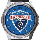 Tennessee Soccer Club Round Metal Watch