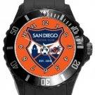 San Diego Soccer Club Plastic Sport Watch In Black