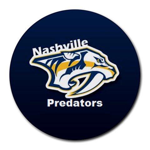 Nashville Predators Heat-Resistant Round Mousepad