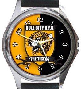 Hull City Round Metal Watch