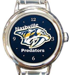 Nashville Predators Round Italian Charm Watch