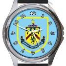 Burnley Round Metal Watch