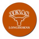 Texas Longhorns Heat-Resistant Round Mousepad
