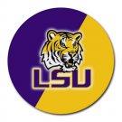 LSU Tigers Heat-Resistant Round Mousepad