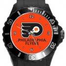 Philadelphia Flyers Plastic Sport Watch In Black