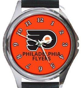 Philadelphia Flyers Round Metal Watch