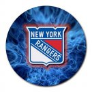 New York Rangers Heat-Resistant Round Mousepad