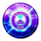 Orlando Pride Heat-Resistant Round Mousepad
