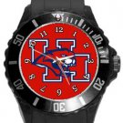 University of Houston Cougars Plastic Sport Watch In Black