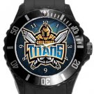 Gold Coast Titans Plastic Sport Watch In Black