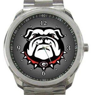 Georgia Bulldogs Sport Metal Watch
