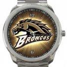 Western Michigan Broncos Sport Metal Watch