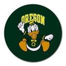 Oregon Ducks Heat-Resistant Round Mousepad