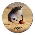 Piper Heat-Resistant Round Mousepad