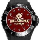 Oklahoma Sooners Plastic Sport Watch In Black