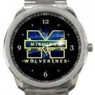 Michigan Wolverines Sport Metal Watch
