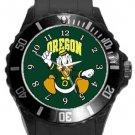 Oregon Ducks Plastic Sport Watch In Black
