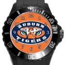 Auburn Tigers Plastic Sport Watch In Black