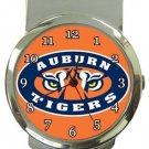 Auburn Tigers Money Clip Watch