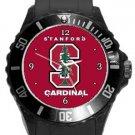 Stanford Cardinals Plastic Sport Watch In Black