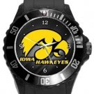 University of Iowa Hawkeyes Plastic Sport Watch In Black