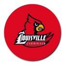 University of Louisville Cardinals Heat-Resistant Round Mousepad
