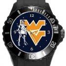 West Virginia Mountaineers Plastic Sport Watch In Black