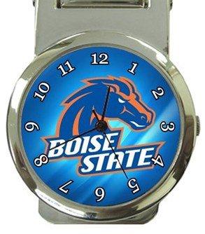 Boise State Broncos Money Clip Watch