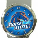 Boise State Broncos Money Clip Watch