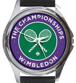 Wimbledon Round Metal Watch