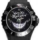 Mad Plastic Sport Watch In Black