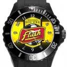 Western New York Flash Plastic Sport Watch In Black