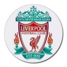 Liverpool FC Heat-Resistant Round Mousepad