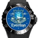 Everton FC Plastic Sport Watch In Black