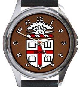 Brown University Round Metal Watch